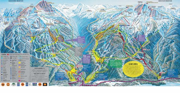 Trail map whistler blackcomb whistler canada mappery ski trail map whistler blackcomb whistler canada mappery gumiabroncs Gallery