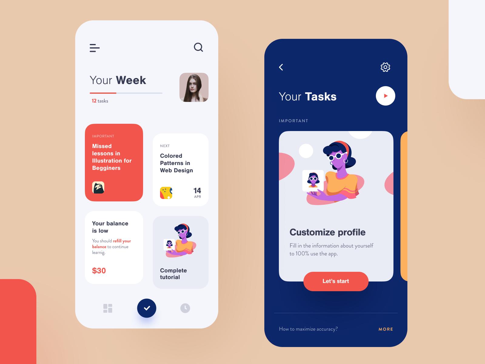 Ledge Learning App In 2020 App Design Ux Design Mobile Mobile Web Design