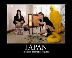 People think  that Japan is reeaally weird. This is just the Internet exaggerating things - http://www.squidoo.com/living-in-japan-5-things-you-don-t-know-about-the-country
