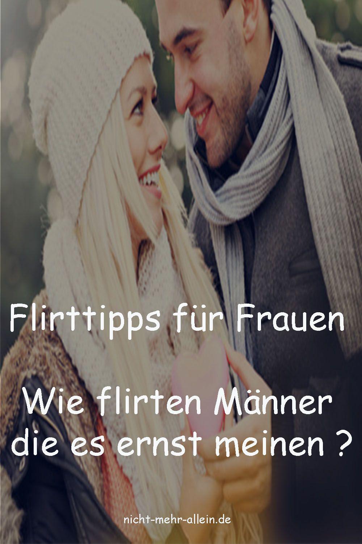 Männer flirten oft subtil