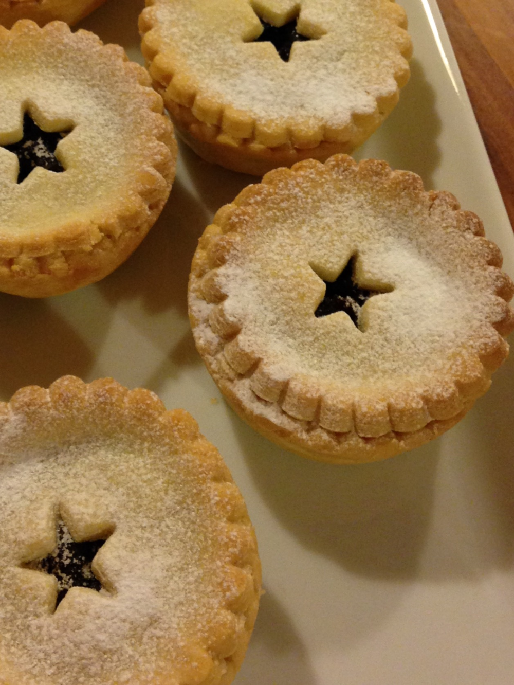 Deep Filled Luxury Mince Pies – Nancy Birtwhistle  - Christmas time will be here -