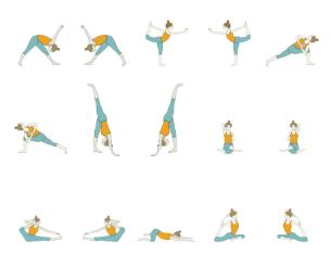 11 advanced hip opening yoga poses  yoga poses