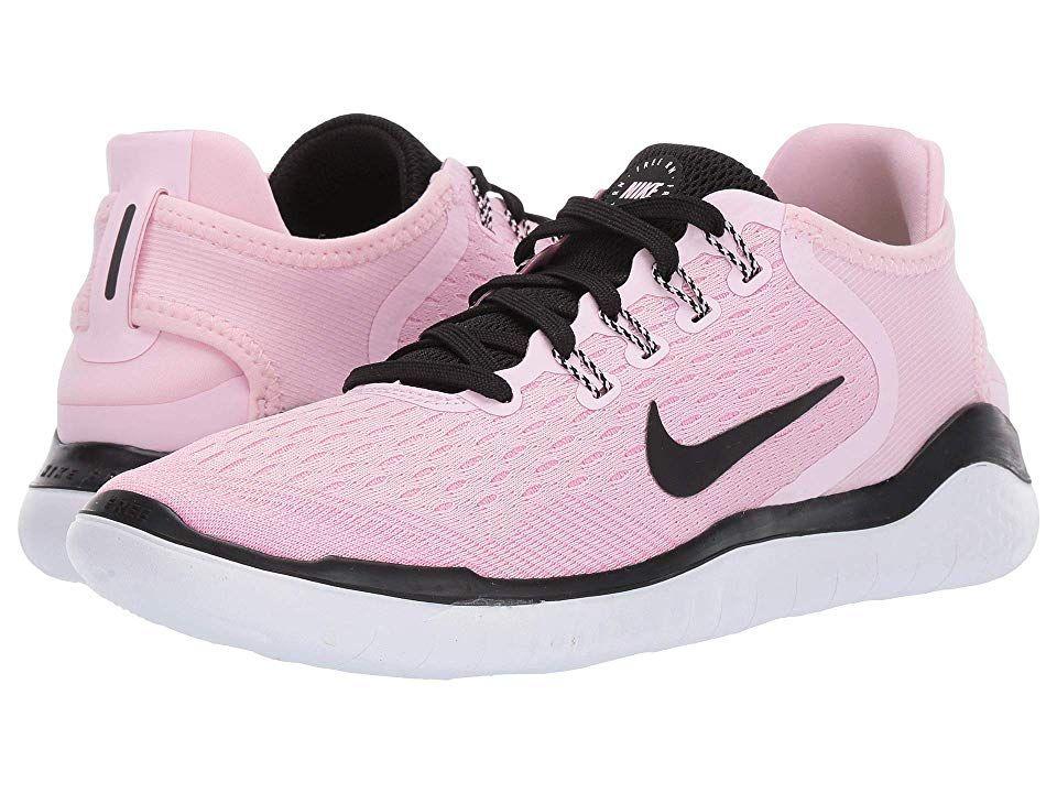 Nike Free RN 2018 Women's Running Shoes Pink FoamBlackPink