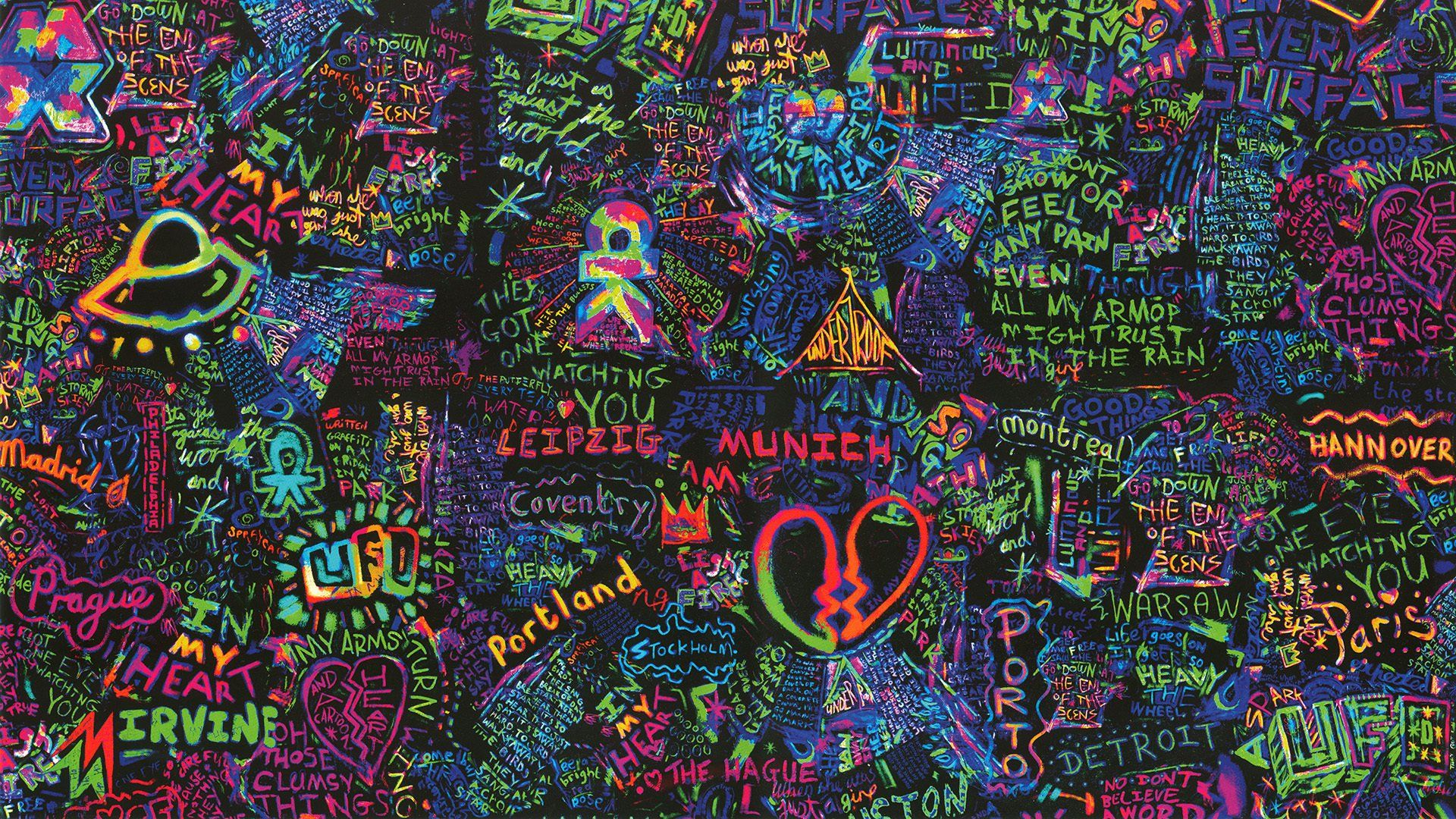Coldplay Desktop Wallpaper Coldplay Wallpaper Coldplay Art