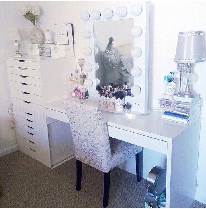 Tocador con muebles de ikea proyecto tocador pinterest - Sillas para tocador ...