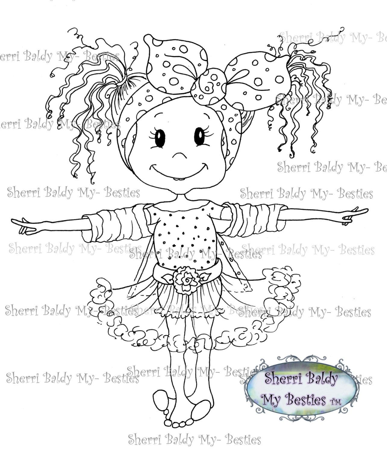 Large Key Coloring Page