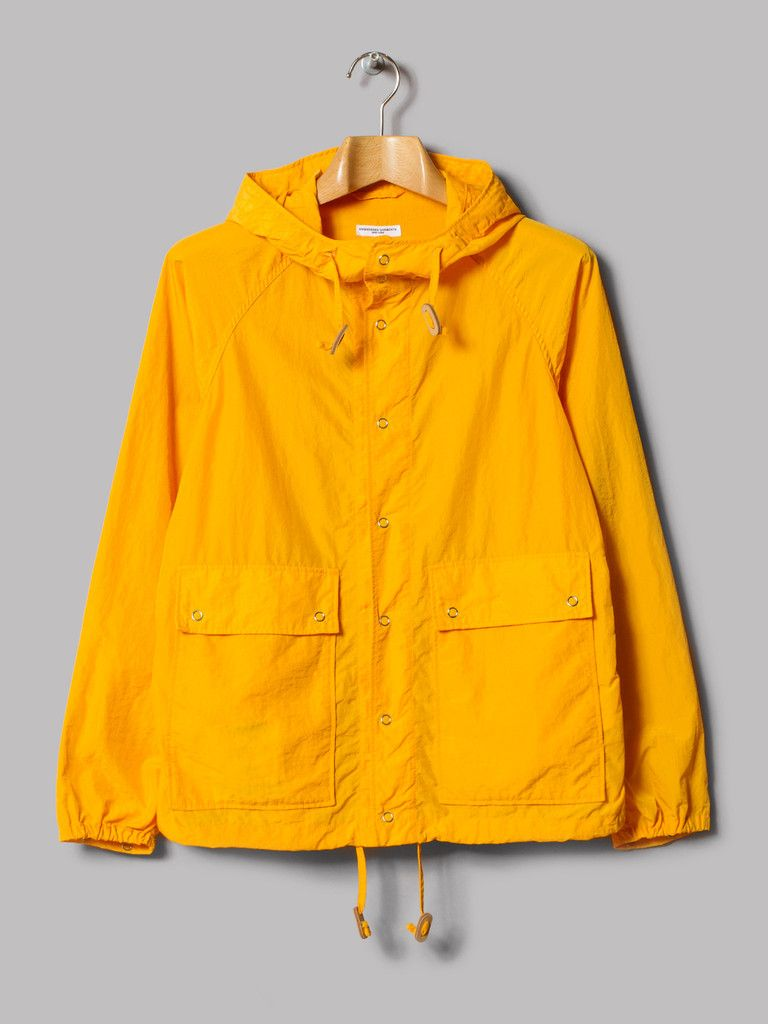 Engineered garments light parka red