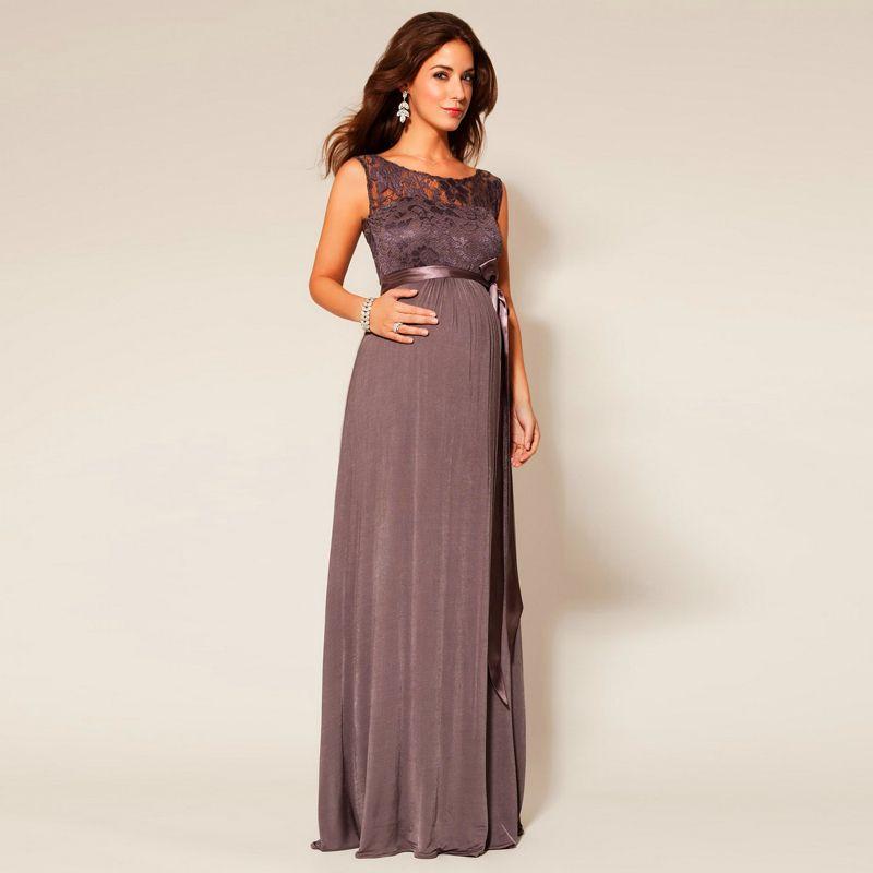 Vestido de fiesta embarazada 2015