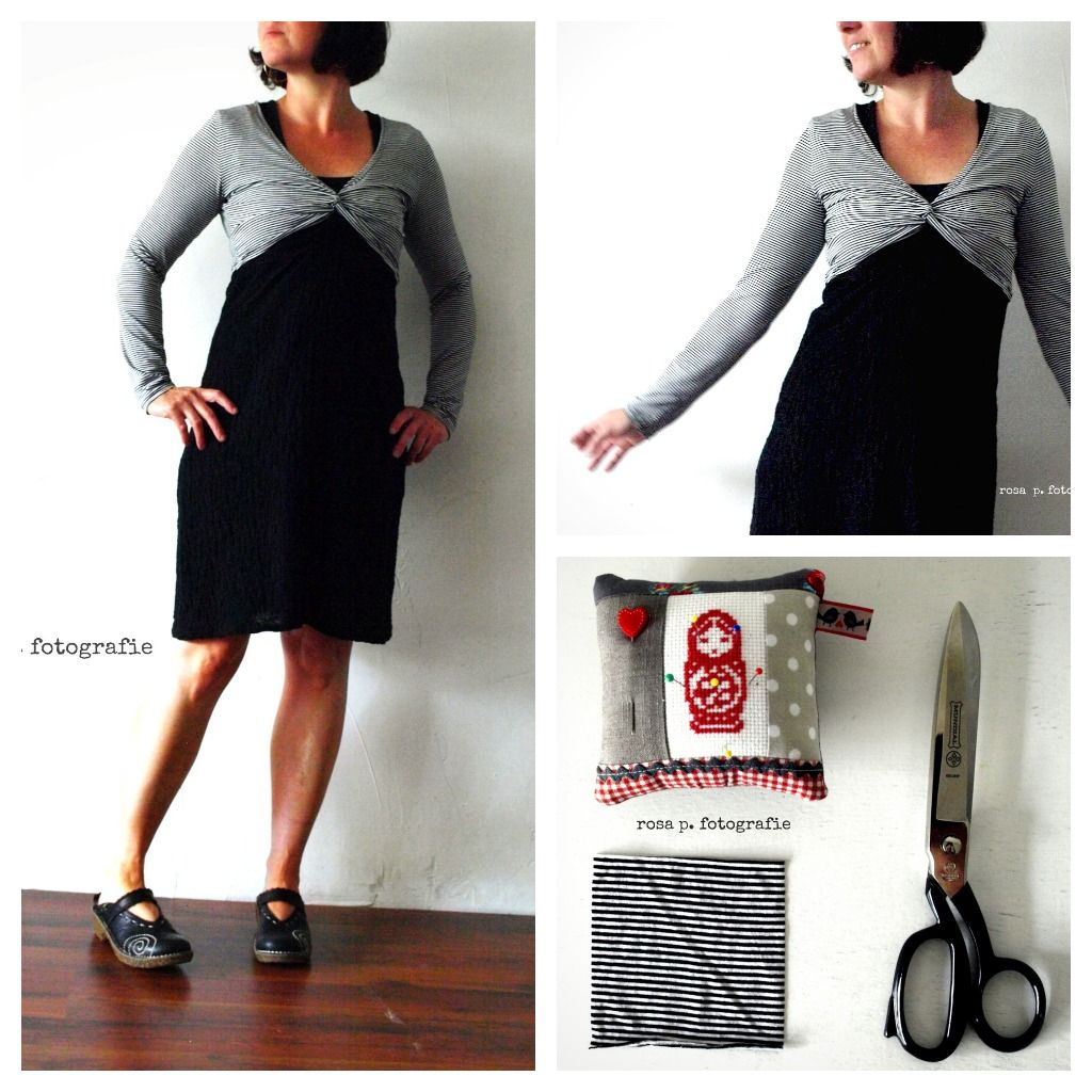 Mila, Bolero striped | PDF Sewing Pattern: Mila | Pinterest | Diy ...