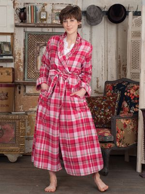 Cabin Ladies Dressing Gown  92ed9f792a