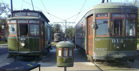 new orleans streetcar, new orleans history