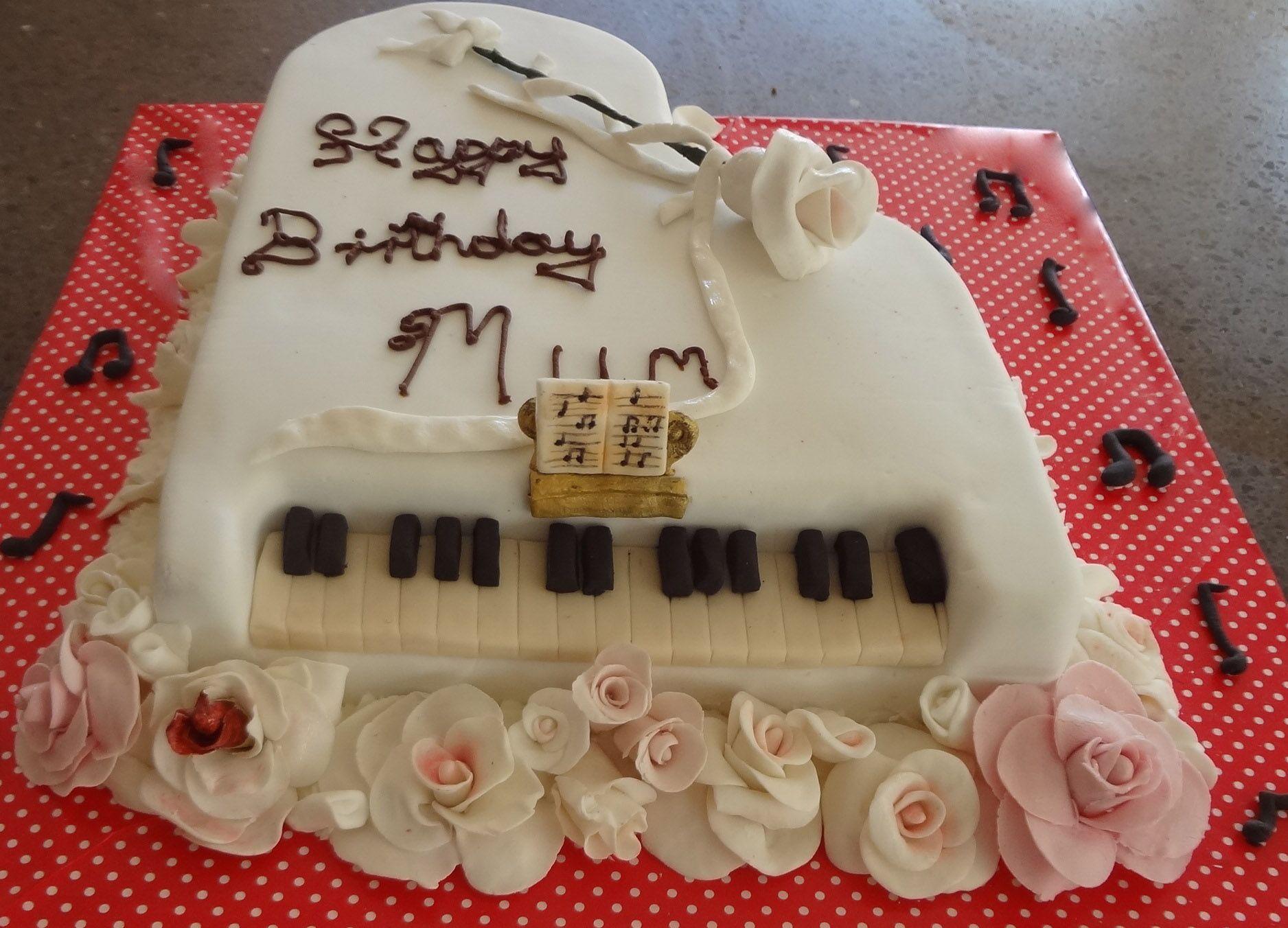 Piano Cake by Novy Desserts, Cake, Food