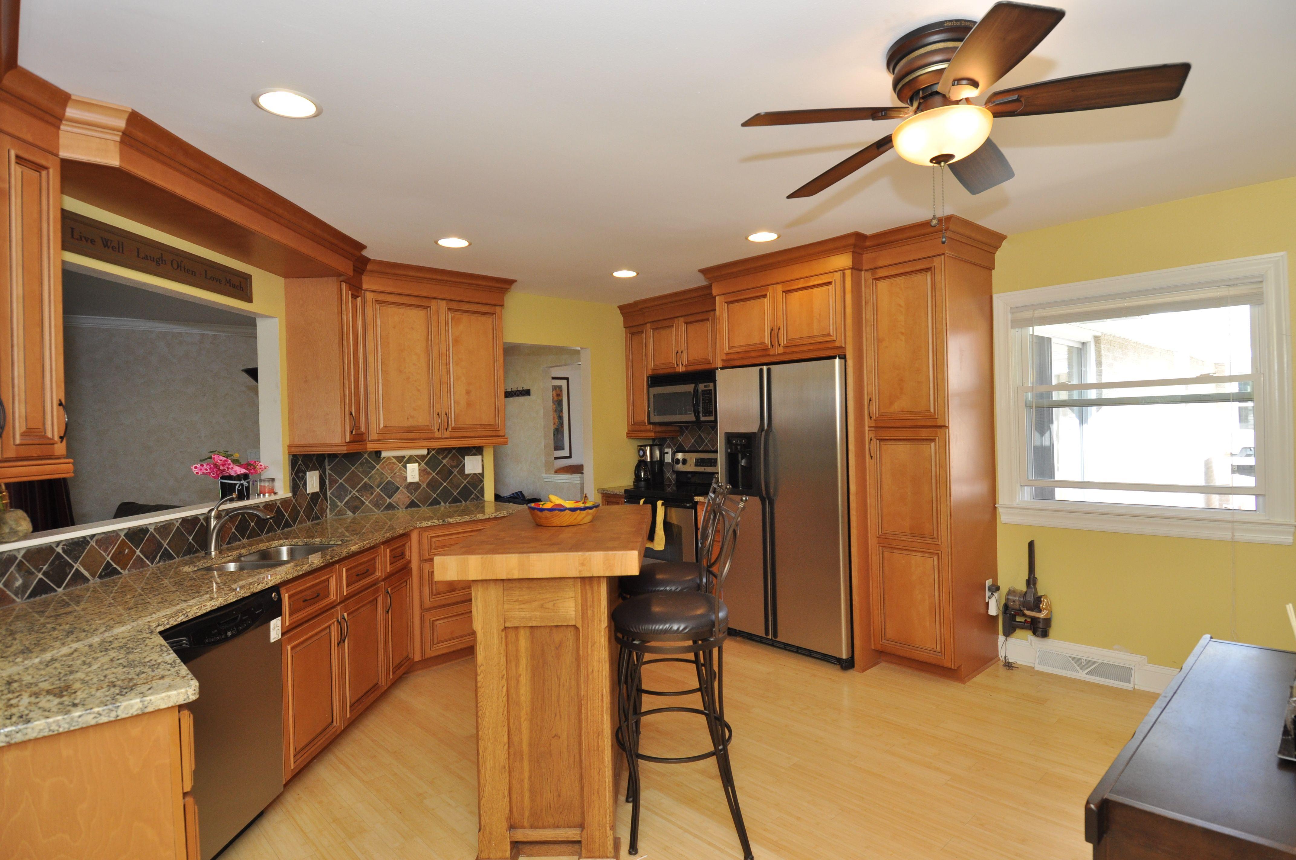 solid Bamboo flooring, maple cabinets, granite countertops ... on Maple Cabinets With Granite Countertops  id=43581