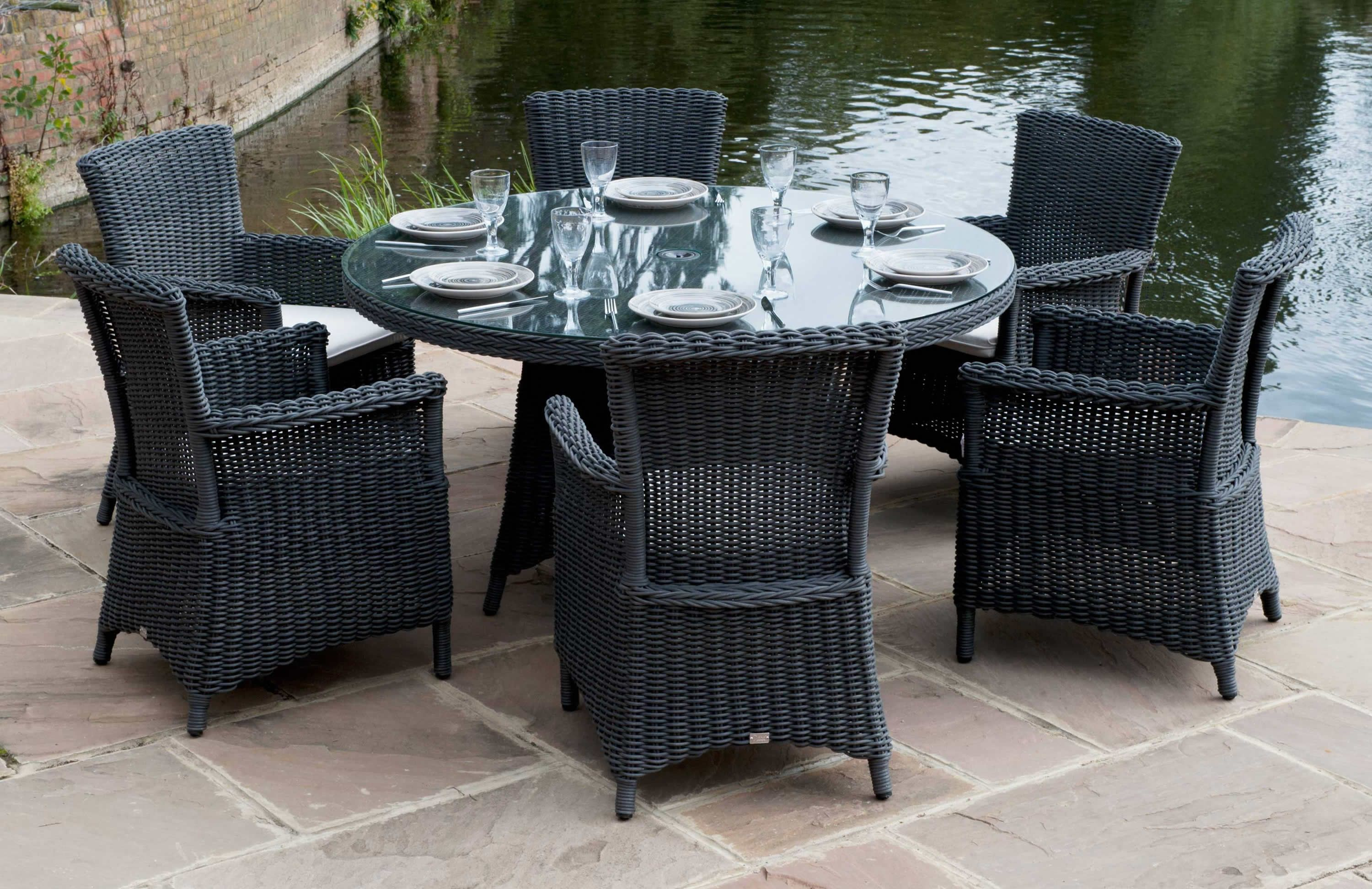 Wicker Patio Dining Furniture. Daro Cane For Furniture, Rattan Wicker  Outdoor Furniture And Conservatory