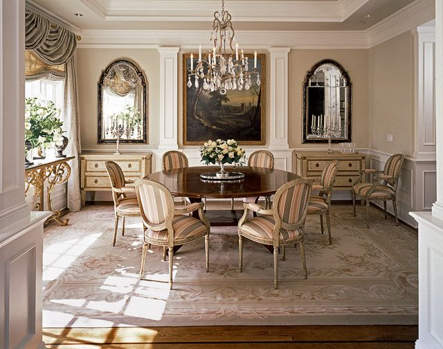European Dining Room Traditional