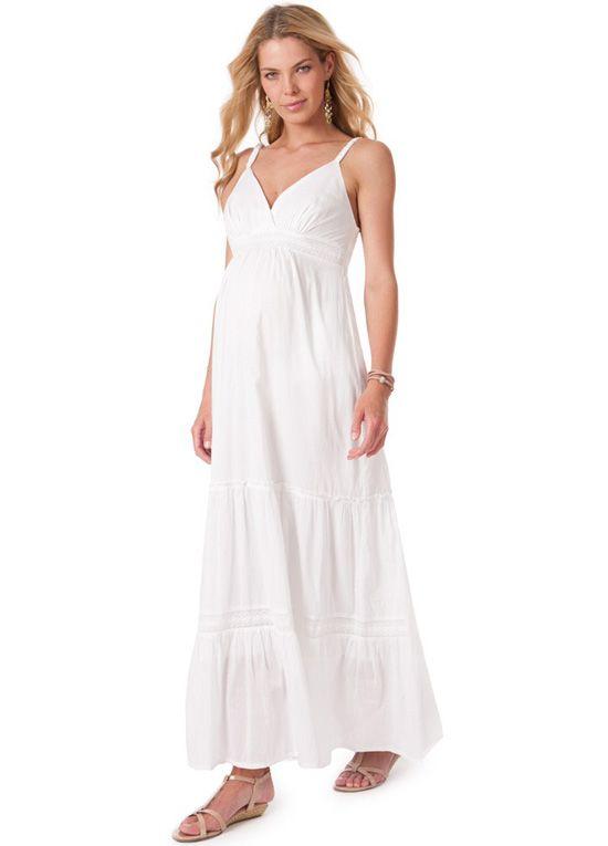 19+ White summer maternity dress info