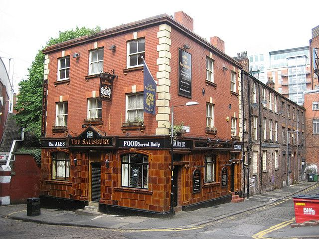 The Salisbury in Manchester. A past watering hole of wine, many moons ago.