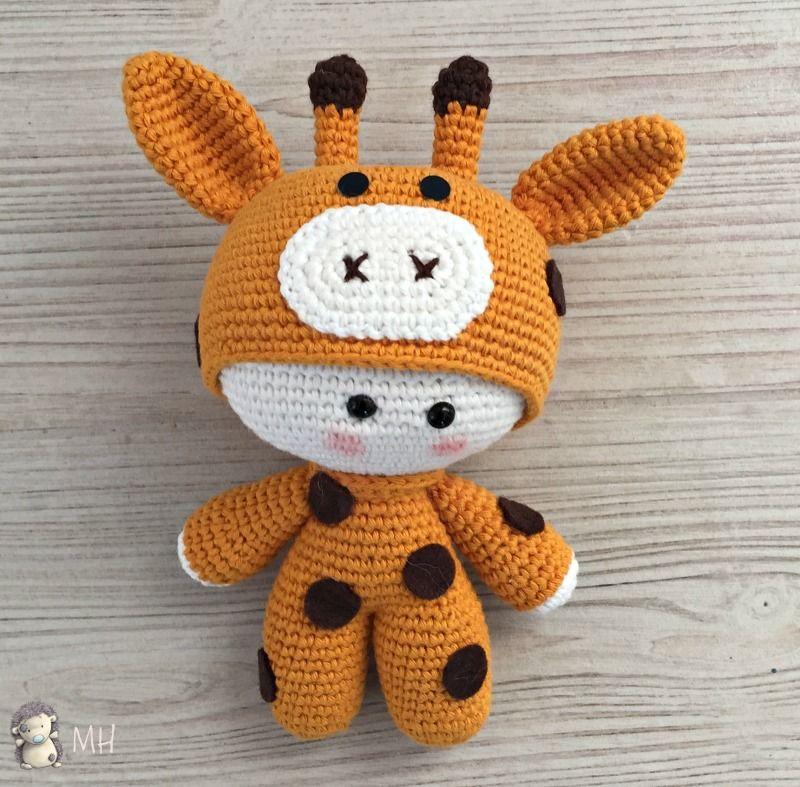 Yoyo jirafa amigurumi | cari | Pinterest | Patrones, Jirafa y ...
