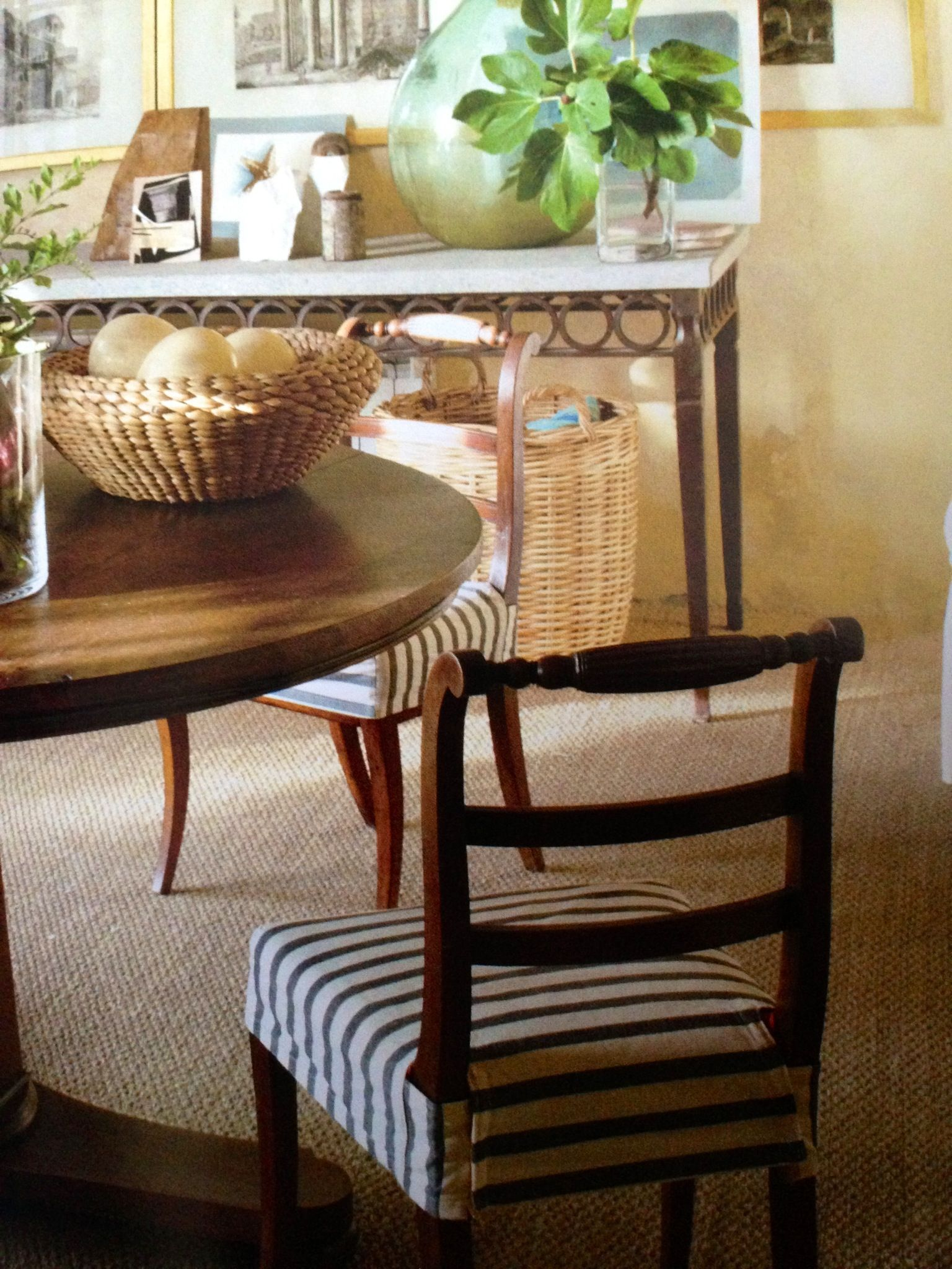 Chair Seat Covers Perfect With No Frills. Nicely Tailored. Want In White  Sunbrella Fabric For My Dining Chairs.