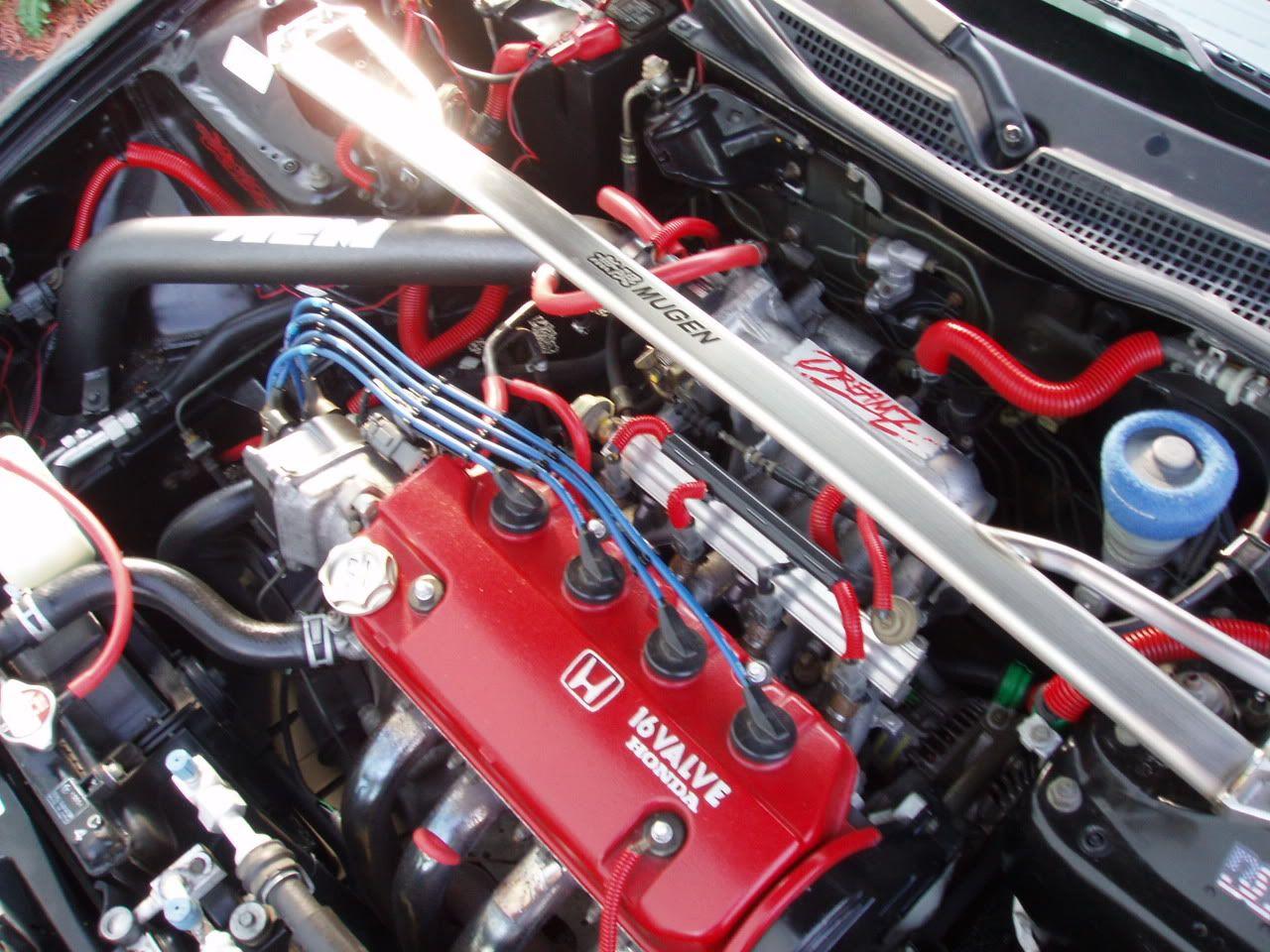 Civic Del Sol S Engine 1 6l 16valve 1 6litre 16valve Civic Delsol Japanese Honda Civic Truck Accesories Honda Car