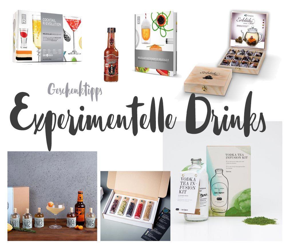 Experimentelle Drinks selbermachen - Geschenktipps für ...