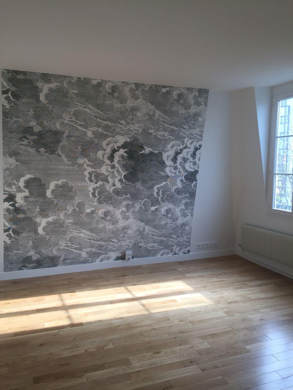 Un décor de papier peint et l'appartement prend une autre dimension