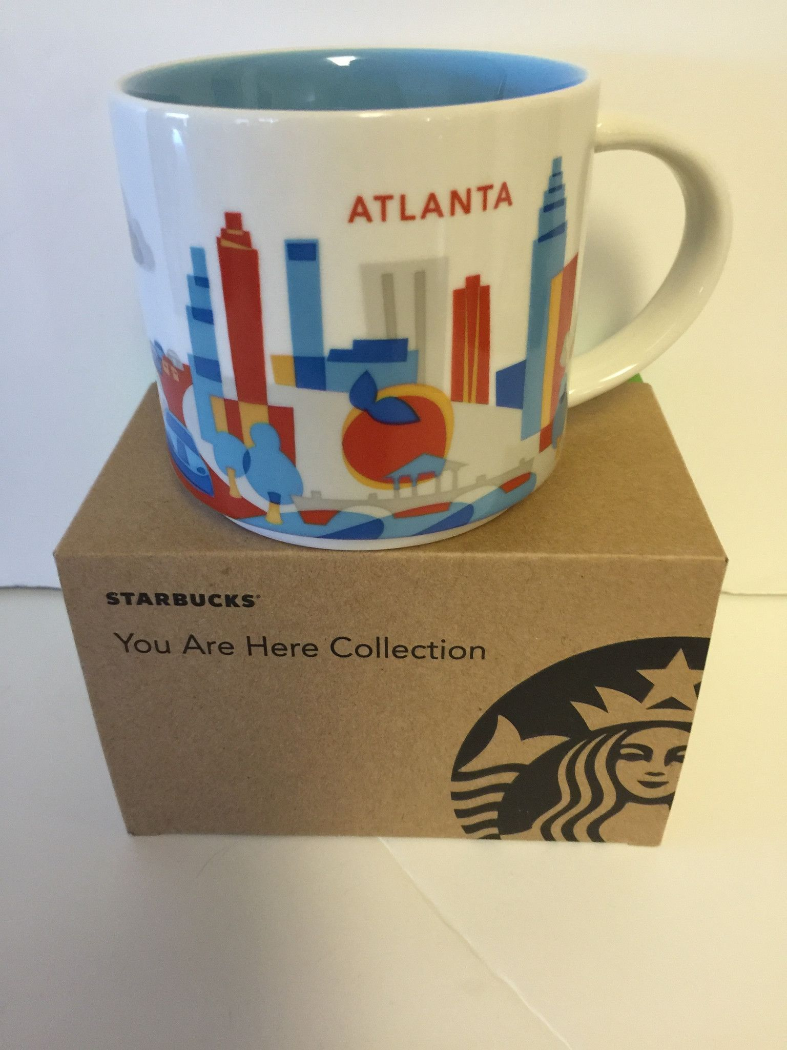 Starbucks You Are Here Atlanta Ceramic Coffee Mug