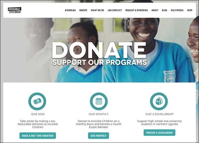 10 Great Nonprofit Donation Pages Updated For 2020 Donation Page Online Fundraising Network For Good