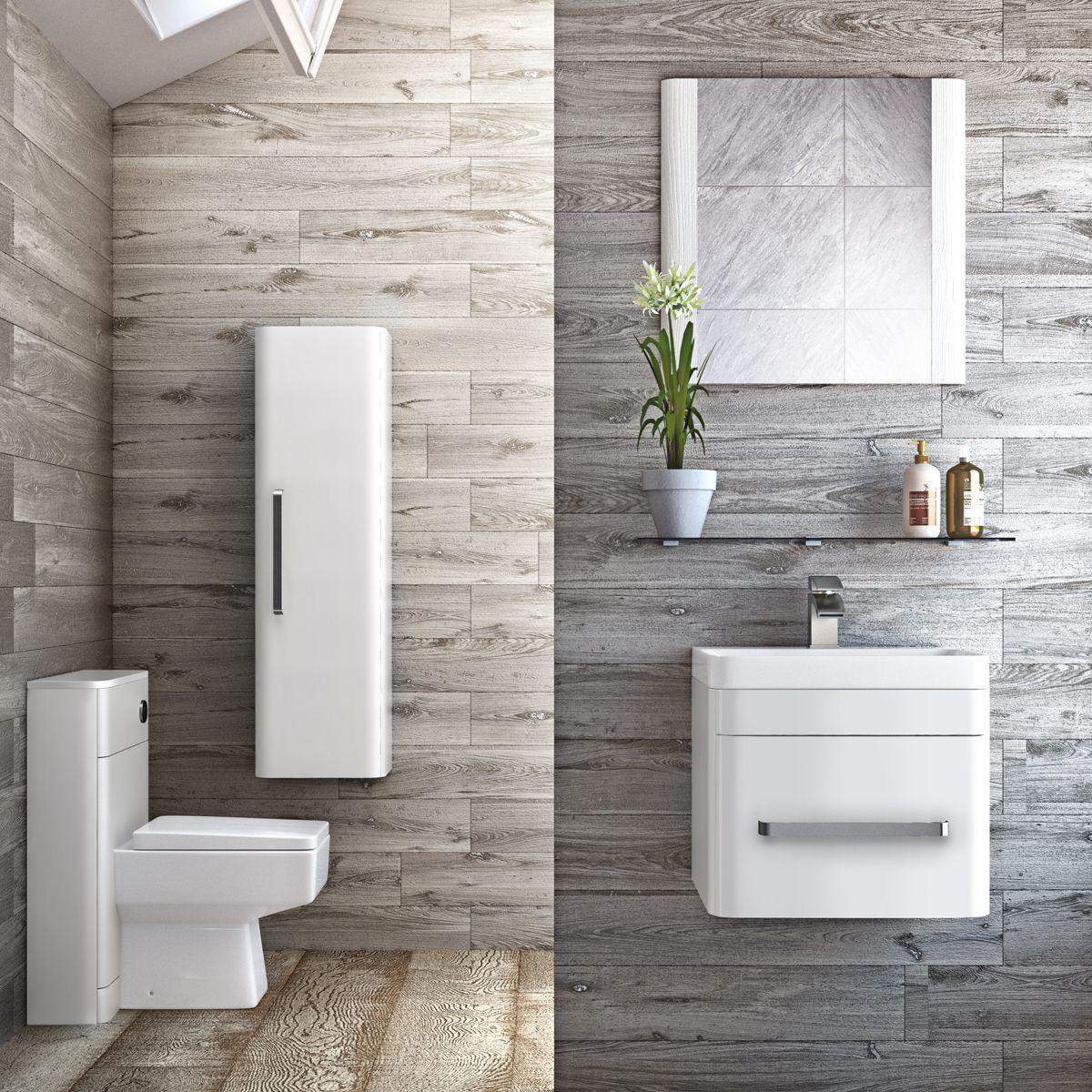 Technique Luxury Bathroom Suite - Gloss White | The Bath House ...