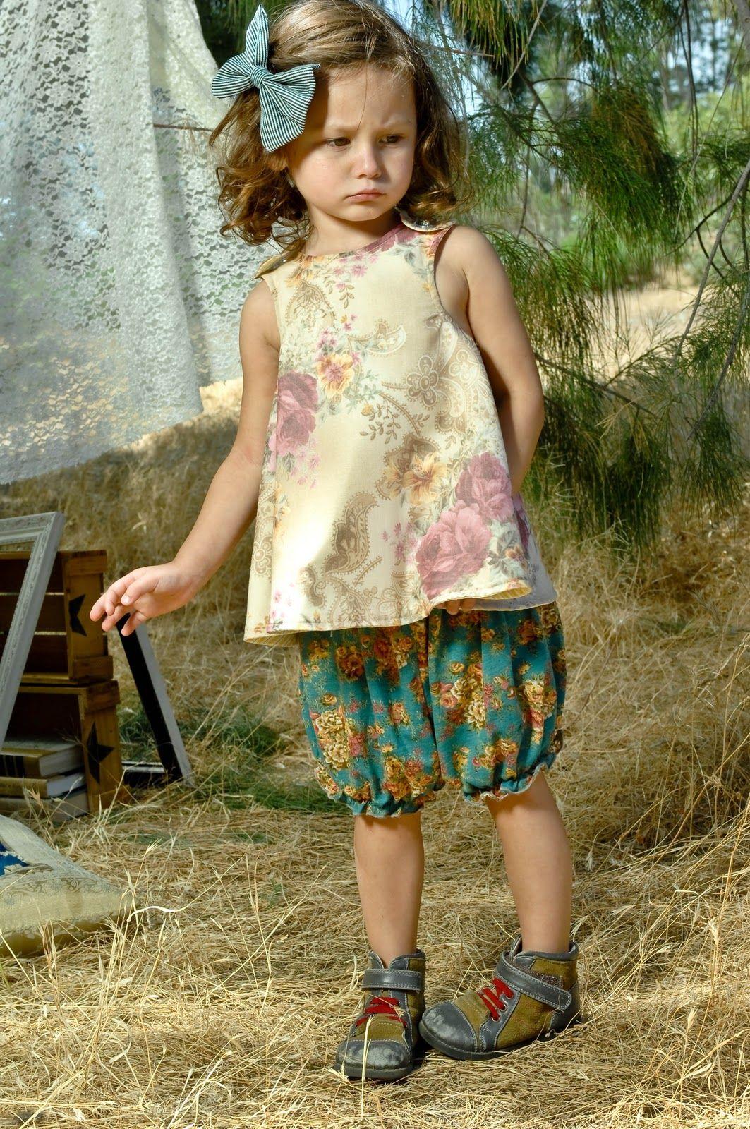 (right bank babies spring 2011 collection) so vintage ! petit look rétro vraiment adorable !