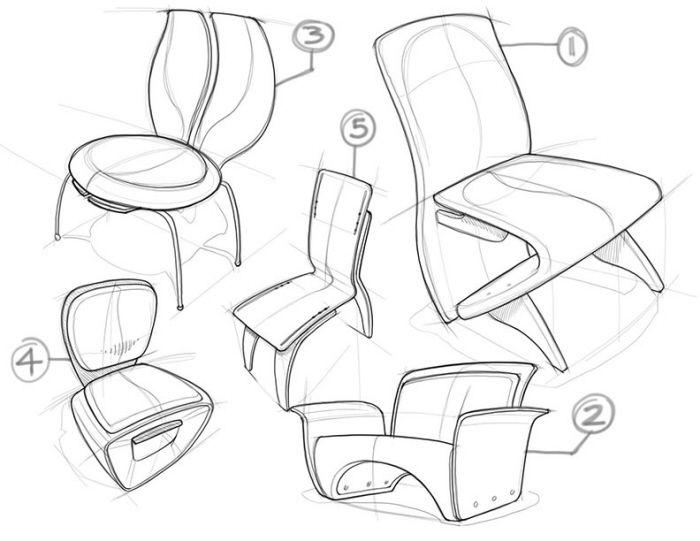 Autodesk Concept Work By Jeff Smith At Coroflot Com Furniture Design Sketches Design Sketch Sketch Book