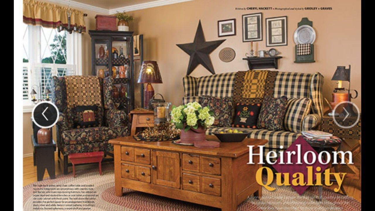 From the new Country Sampler...It's just so cozy n classy