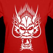 Chinese Dragon Head 1 Women's T-Shirts Design