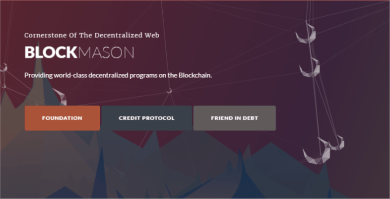 blockmason credit protocol binance