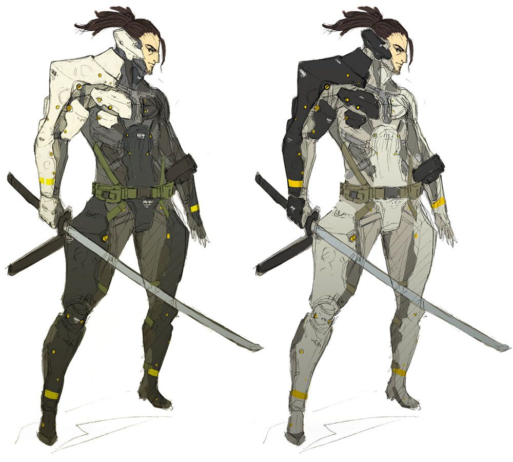 samuel rough concept characters amp art metal gear