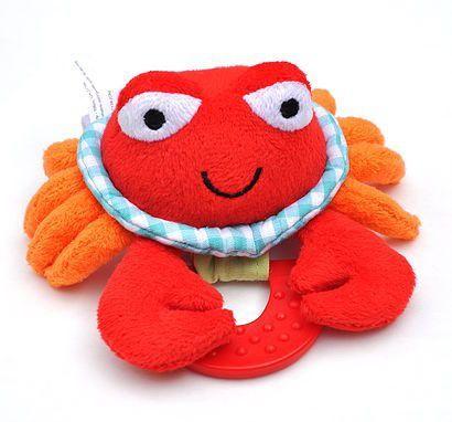 Wristy Buddy Crab Hand Teether