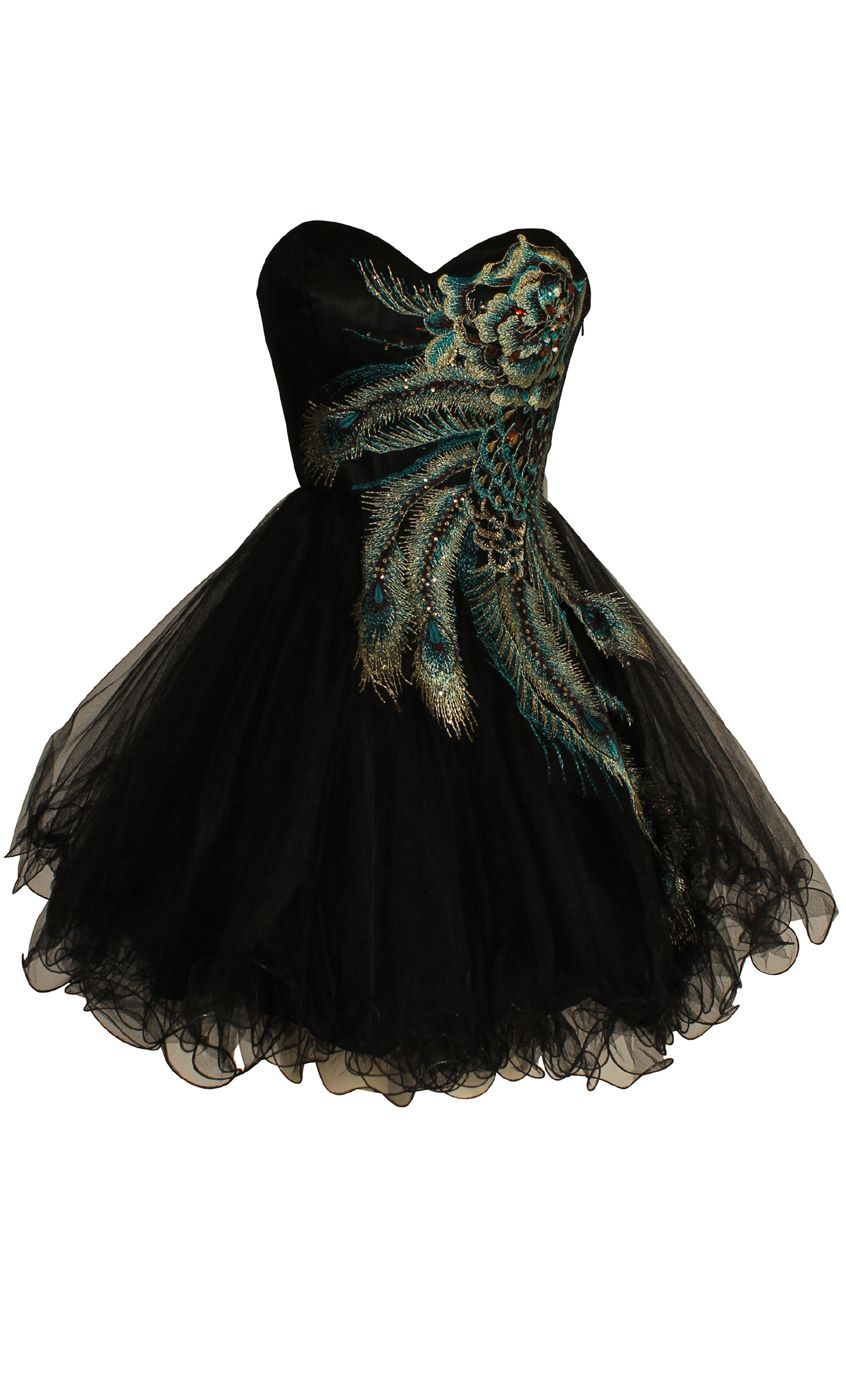 Peacock party dress itus and more expensive than the average