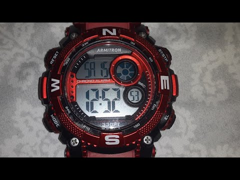 How To Change The Date On The Armitron Watch Youtube Armitron Watches Armitron Watches