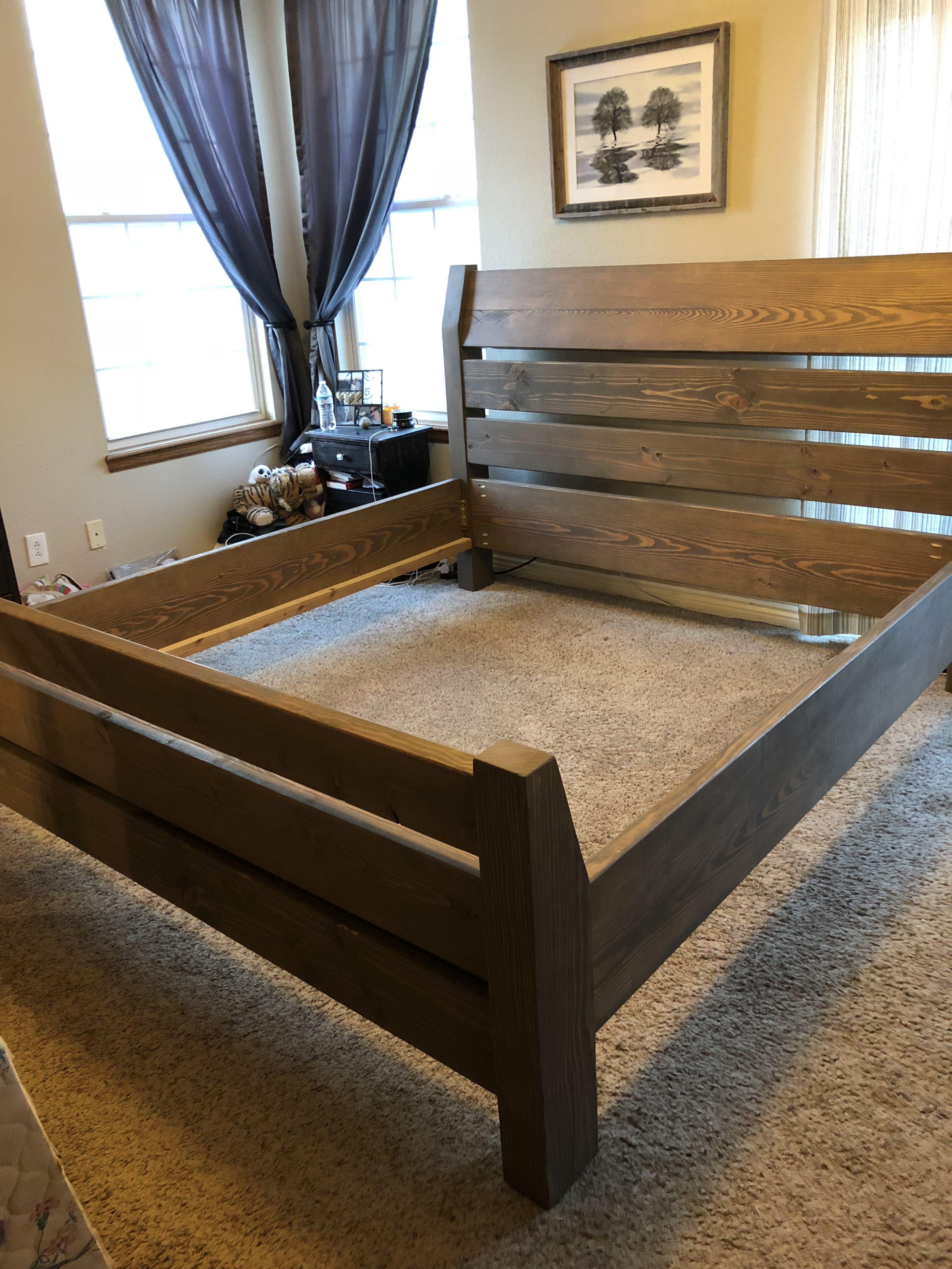 Amish Copy Cat King Bed Frame Diy King Size Bed Frame King Size