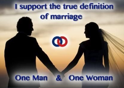 I Support Gods Definition Of Marriage