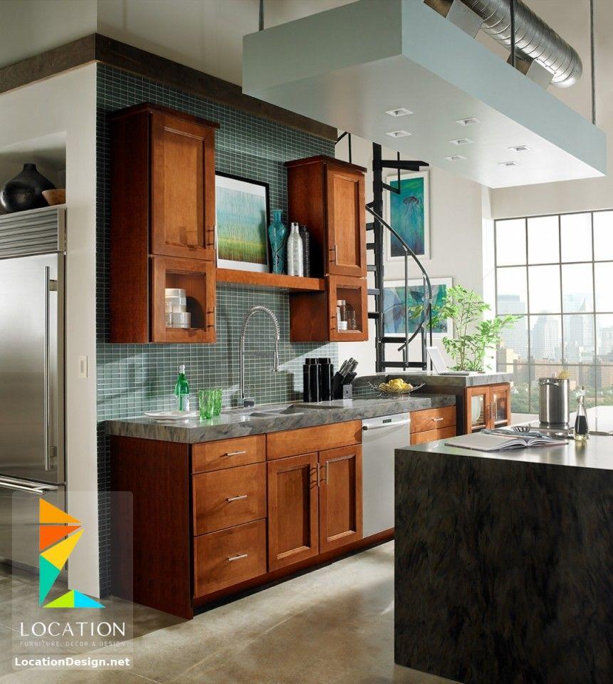مطابخ خشب صغيرة 2018 2019 لوكشين ديزين نت Kitchen Design Interior Design Kitchen Modern Kitchen Interiors
