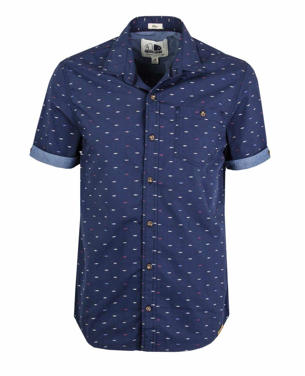5ad859a1d Camisa 8136020 - americanino Camisas Masculinas