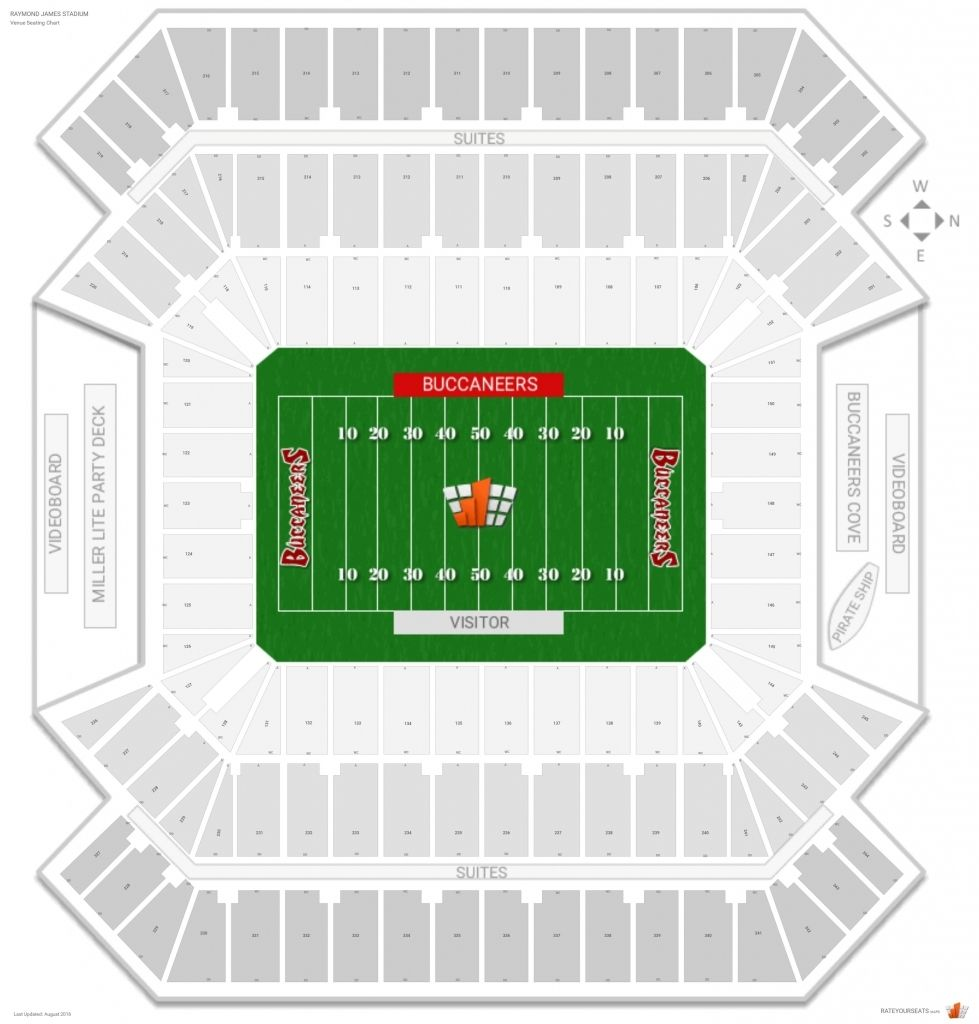 The Most Awesome Raymond James Stadium Seating Chart Raymond James Stadium Deck Party Seating Charts