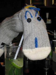 Bob Trotteur boit son Mojito