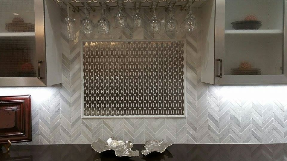 Funtilefriday Features A Stunning Backsplash Installation