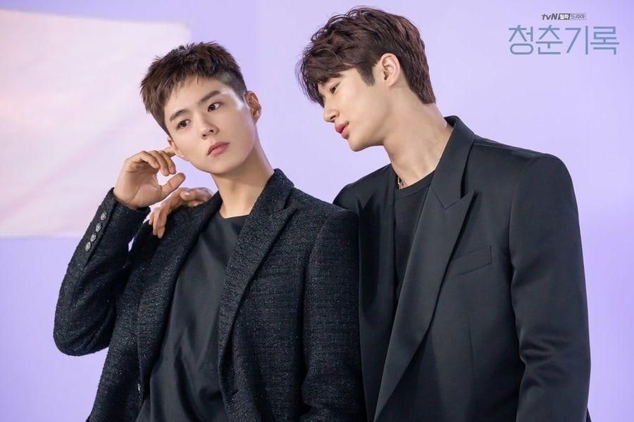 """Park Bo Gum And Byun Woo Seok Are Both Industry Rivals And Close Friends In """"Record Of Youth"""""""