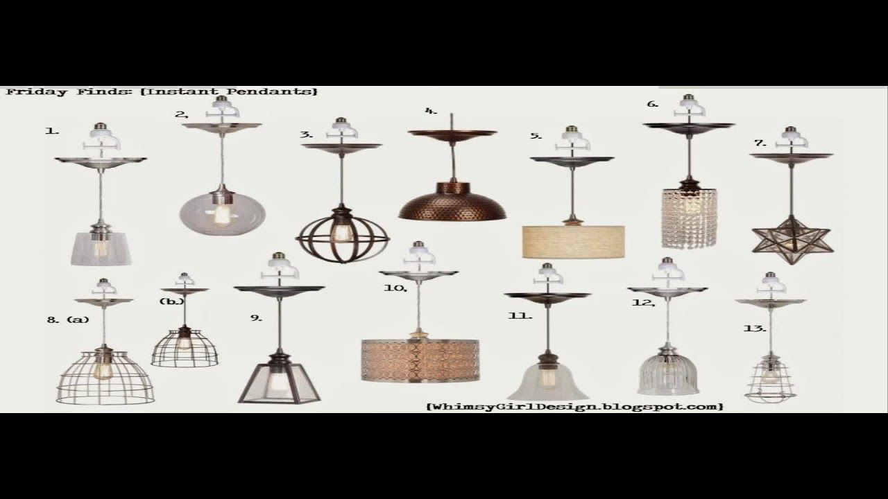 Instant Pendant Light Conversion Kit Lowes Youtube Recessed