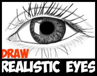 How To Draw Realistic Eyes With Step By Step Drawing Tutorial In