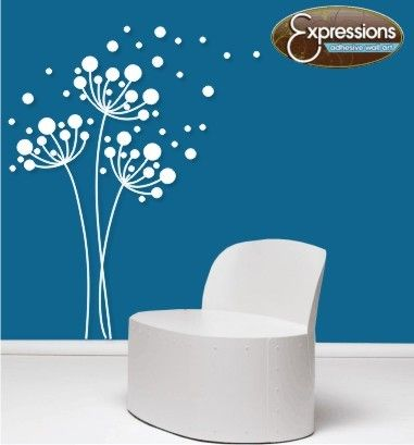 Dandelions Vinyl Wall Decals Floral By Expressionswallart On Etsy Vinyl Wall Decals Dandelion Wall Decal Dandelion Wall Art