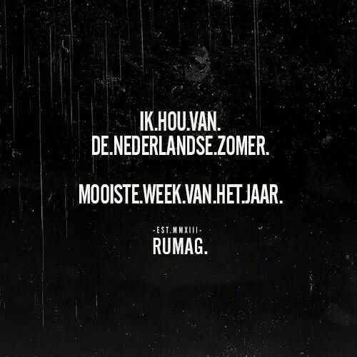 Ik Houd Van De Nederlandse Zomer Mooiste Week Van Het Jaar